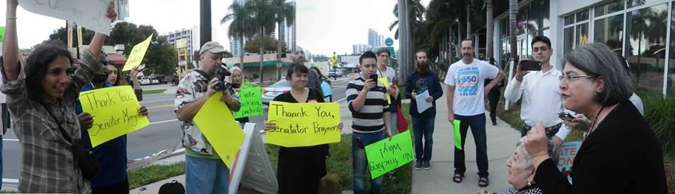 Ban Fracking Rally Miami: Jan 30, 2016